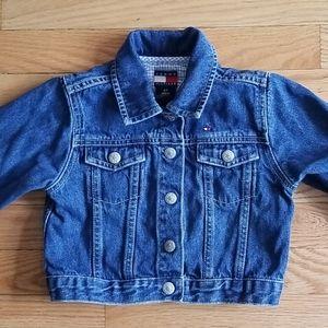 Vintage Toddler Tommy Hilfiger Denim Jacket